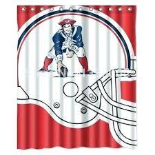 patriots curtains new patriots shower curtain cool high quality in on patriots shower curtains