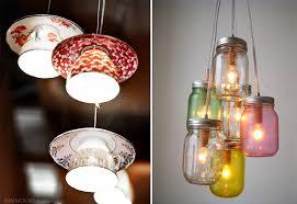 unusual lighting fixtures. astounding hanging unusual light fixtures weird chandeliers made from mason jars and tea cups small furniture traditional lighting u