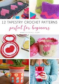 Tapestry Charts Free 12 Tapestry Crochet Patterns Perfect For Beginners Stitch11