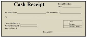Cash Receipt Template Pdf Delectable Sample Money Receipt Format Unique Cash Receipt Form Examples