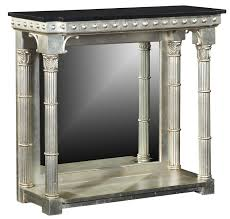 stone hall table. Silver Console Table With Black Granite Top Stone Hall T
