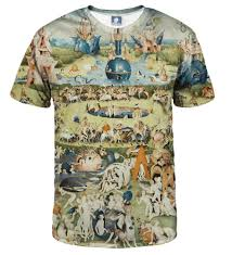 aloha from deer the garden of earthly delights t shirt image i