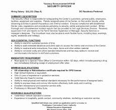 Resume Template Stupendousity Guard Example Armed Examples Of Jobs ...