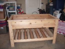 cedar garden box. Cedar Raised Garden Box