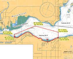 Burrard Inlet Depth Chart Eastern Burrard Inlet B C Rockfish Conservation Area