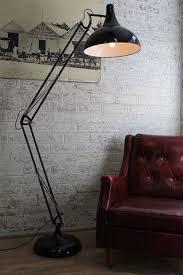 Large Metal Floor Lamp