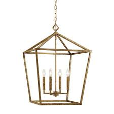 cage lighting. Geometric Cage Lantern Lighting