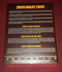 death walks twice arrow blu ray forum click this bar to view the full image