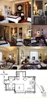 Best Studio Apartments Images On Pinterest - Tiny studio apartment layout