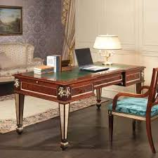 classic office desks. Classic Desk Impero Style: Mahogany, Brass Decorations And Gold Leaf Details. Style Office Desks R