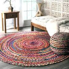 8 ft round rug cool round rug casual handmade braided cotton multi round rug 8 round 8 ft round rug