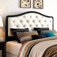 gray tufted cal king headboard black and pearl size upholstered diy cal king