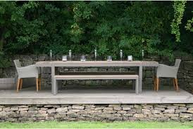 harlequin reclaimed teak outdoor dining table image 2