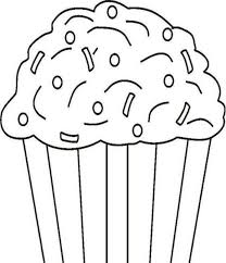 Small Picture Printable Cupcake Coloring Page Foods Coloring pages of