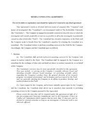 Consultant Agreement Template - 8 Free Templates In Pdf, Word, Excel ...