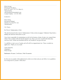 clerical assistant cover letter sample clerical resume examples objective for inventory stock cover