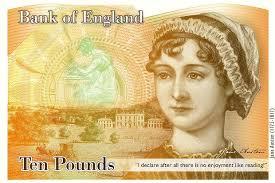 Image result for jane austen banknote concept