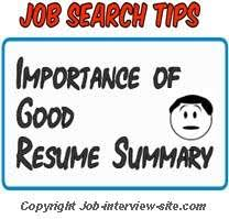 Resume Summary Statement Importance And How Long It Should Be