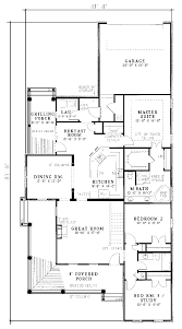Chesterfield  Lakefront House Plans  Luxury House PlansCountry Floor Plans