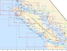 Nautical Charts For Southern British Columbia