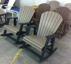 adirondack rocking chairs. Brilliant Chairs Amish Polywood Adirondack Rocking Chairs In C