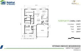 habitat for humanity house plans. Unique House Habitat For Humanity 3 Bedroom Floor Plans On House Home  Designs In N