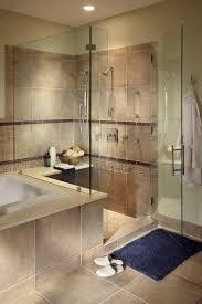 glass shower door by basco