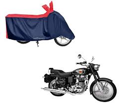 sporty red blue bike body cover for