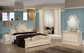 italian bed set furniture. Stella Italian Bedroom Set In Beige And Gold Bed Furniture U