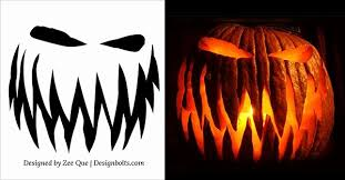 Scary Pumpkin Carving Patterns Enchanting Vampire Pumpkin Stencils New 48 Free Printable Scary Halloween