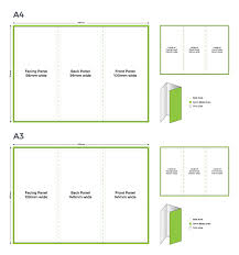 Trifold Template Trifold Templates Tradeprint Help