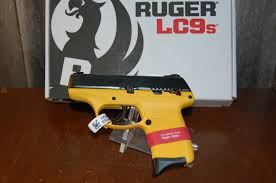 ruger yellow 9mm lc9s talo special edition nib picture 1