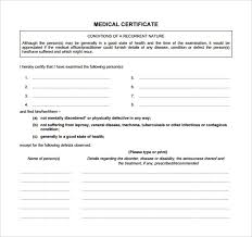 15 Medical Certificate Download For Free | Sample Templates