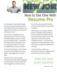Resume Pro Bad Bad Resume Pages 1 5 Text Version Anyflip
