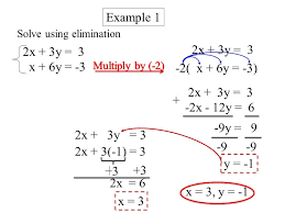 solving systems of equations by elimination worksheets