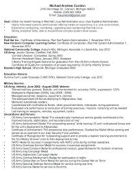 Linux Administrator Sample Resume Gorgeous System Administration Sample Resume For Administrator Experience