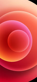 Colorful iPhone 12 Stock wallpaper Orbs ...
