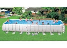 intex rectangular above ground pools. Simple Pools Intex Ultra Frame Above Ground Pools Are The Perfect Choice Easy Assembly  And Solid Construction In Rectangular Above Ground Pools Americas Best Pool Supply