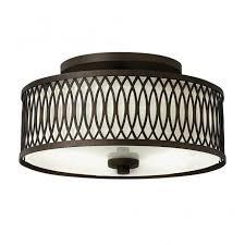 rustic design semi flush ceiling light