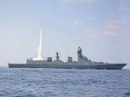 Indian Navy Indian Navy Successfully Test Fires Mrsam