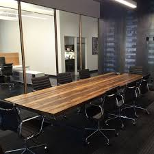 Image Executive Conference Table Large Wood Table Made With Thick 25 Pinterest Conference Table Large Wood Table Made With Thick 25