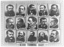 A Master List Of Beard And Mustache Charts Extraordinary