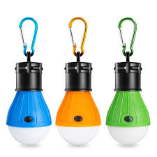 Eletorot Camping Light Tent Light Portable Outdoor Waterproof Camping Lantern Led Light Bulb Cob150 Lumens Emergency Light Lamp For