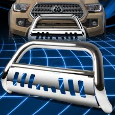 Chrome SS Front Bumper Bull Bar Grille Guard for 2016-2017 Toyota ...