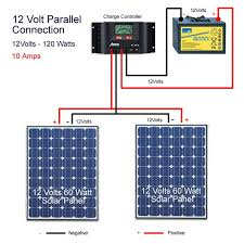 best ideas about volt solar panels solar connecting solar panels in parallel parallel wiring is when you connect a positive a