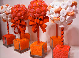 candy centerpieces for sweet 16