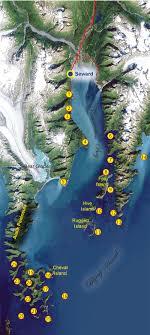 Resurrection Bay Chart Seward Saltwater Fishing Alaska Fishing Alaska Outdoors