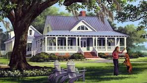 House Plan at FamilyHomePlans comCottage Country Farmhouse Traditional House Plan Elevation