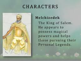 the alchemist book review  characters melchizedek the