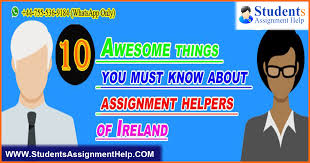 awesome things you must know about assignment helpers of  10 awesome things you must know about assignment helpers of